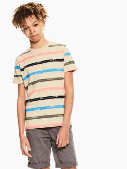 garcia t-shirt beige p03607