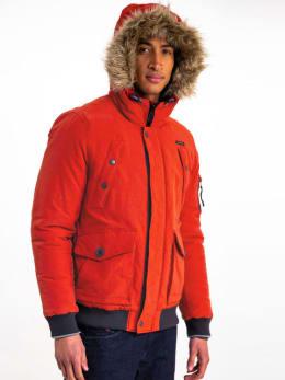 garcia jas met bontkraag gj910903 rood