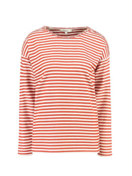 garcia t-shirt gestreept h90215 rood