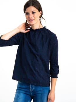 garcia blouse h90207 blauw