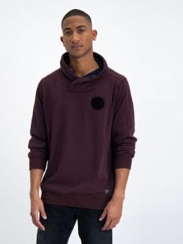 garcia sweater met overslag hals l91066 rood