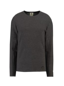 garcia trui met ronde hals gs910733 zwart