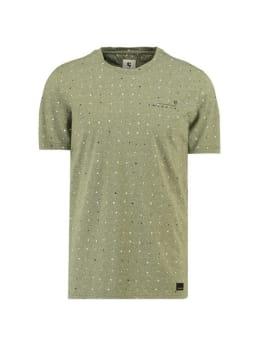 garcia t-shirt met allover print h91204