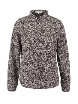 garcia blouse met allover print ge901203 zwart