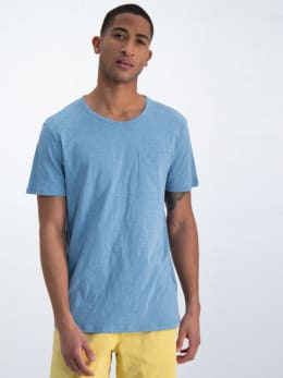 garcia t-shirt gs010206 lichtblauw