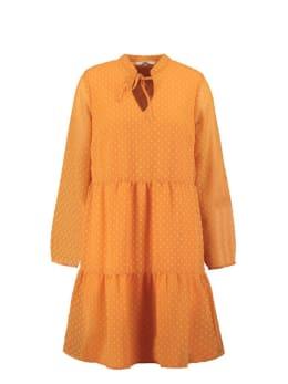 garcia jurk oranje s00082