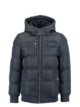 garcia puffer jas gj930802 donkerblauw