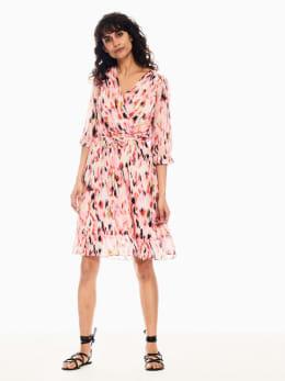 garcia jurk met ruffles meerkleurig q00085