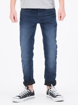 garcia tavio 335 slim fit blauw dark used