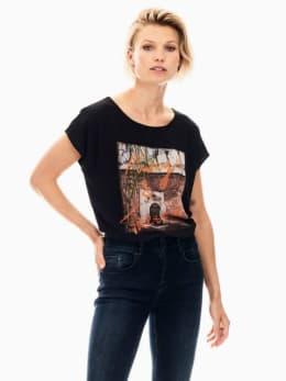 garcia t-shirt zwart s00005