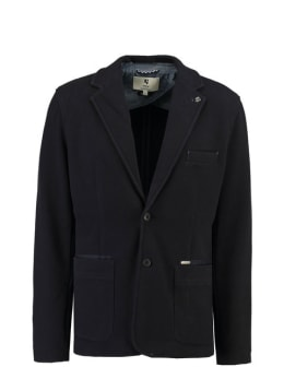 garcia mantel jas j91330 blauw