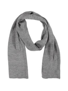 sarlini fijngebreide sjaal zilver-grijs