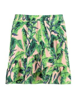garcia rok met allover print ge900402