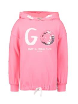 garcia hoodie met opdruk n04462 roze