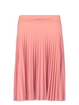 iconic crush denim plisse rok sofia roze