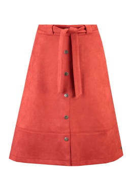garcia suedine rok h90321 rood