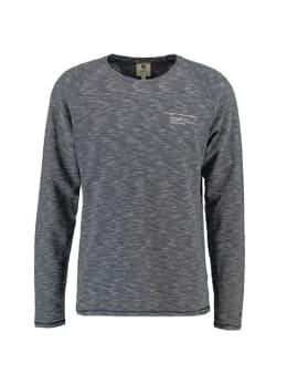Garcia PG Shirt met Lange Mouwen PG910106 Blauw-Wit