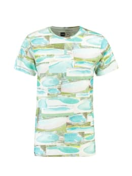 dedicated T-shirt met print stockholm groen