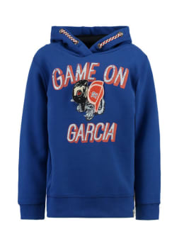garcia hoodie h95661 blauw