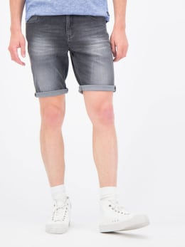garcia denim short grijs