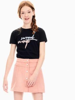 garcia t-shirt zwart s02401