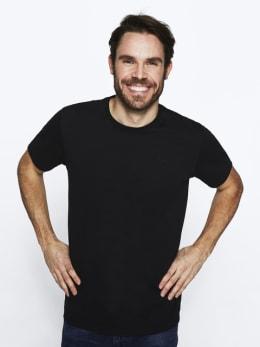 rockford mills t-shirt zwart rm010301