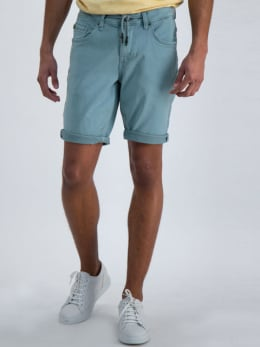 garcia jog denim short blauw