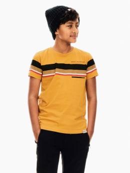 garcia t-shirt geel t03601