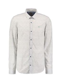 garcia overhemd met allover print m01031 wit