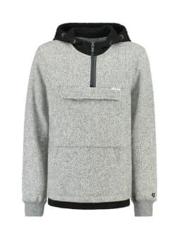 garcia hoodie h93663 grijs