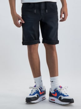 garcia jog denim short zwart