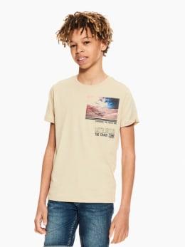garcia t-shirt beige p03600