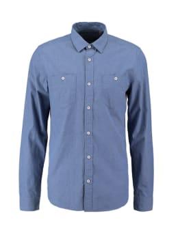 rockford mills overhemd rm01305 blauw