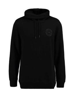 garcia sweater met col h91269 zwart
