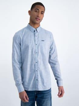 garcia overhemd o01030 blauw