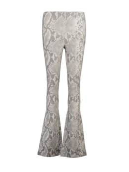 cars zuma flared broek slangenprint