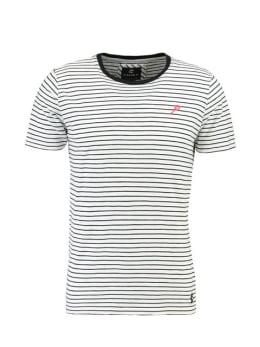 Chief T-shirt Korte Mouwen PC910401 Zwart Gestreept