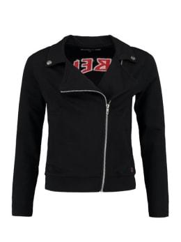cars biker vest met opdruk alvera zwart