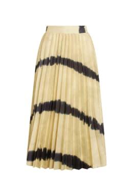 sisterspoint plissé rok geel malou