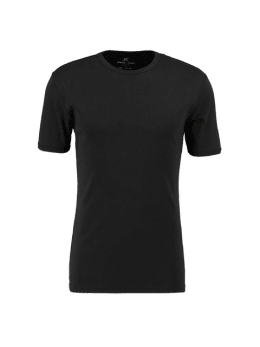 jc basic organic cotton T-shirt JC010005 zwart