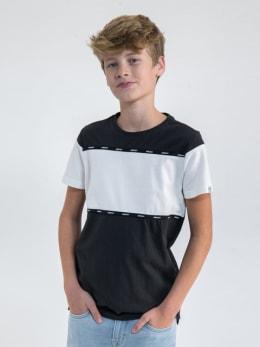 garcia t-shirt n03606 zwart-wit