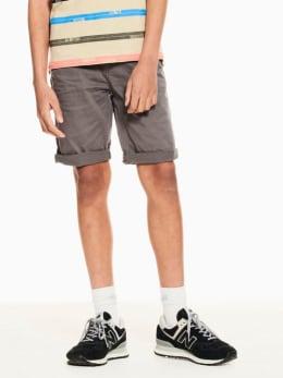 garcia short grijs p03723