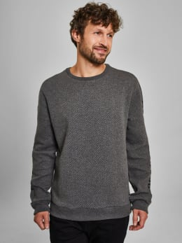 chief sweater pc910921 grijs