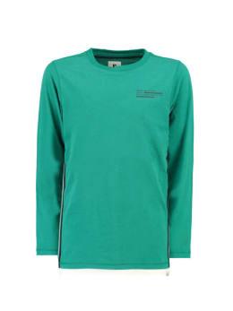 garcia shirt met lange mouw h93605 groen