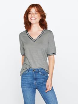 garcia t-shirt grijs-groen pg000304