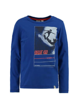 garcia t-shirt h95600 blauw
