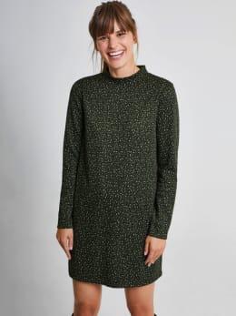 garcia jurk met allover print ge900906 groen