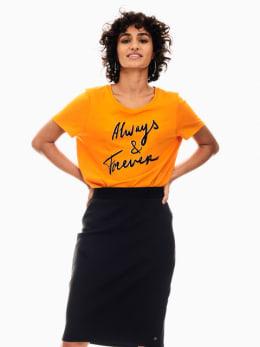 garcia t-shirt oranje s00007