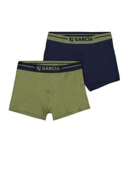 garcia 2 pack boxershorts z1042 legergroen