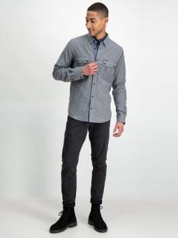 garcia overhemd j91235 grijs